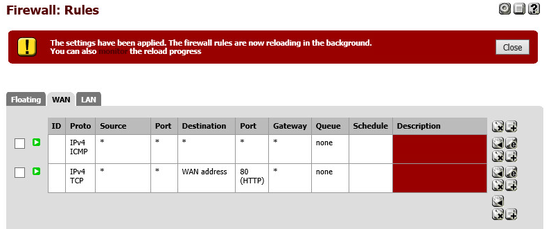 firewall rules